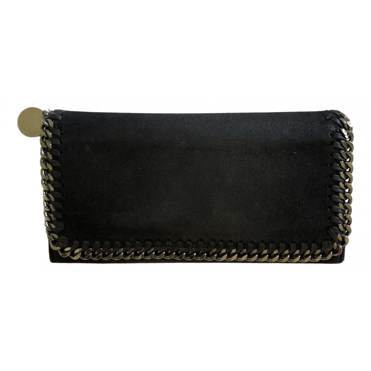 Stella Mccartney \N Black Leather wallet for Women \N