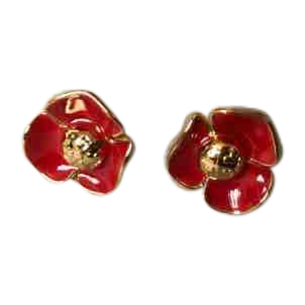 Tory Burch \N Red Metal Earrings for Women \N