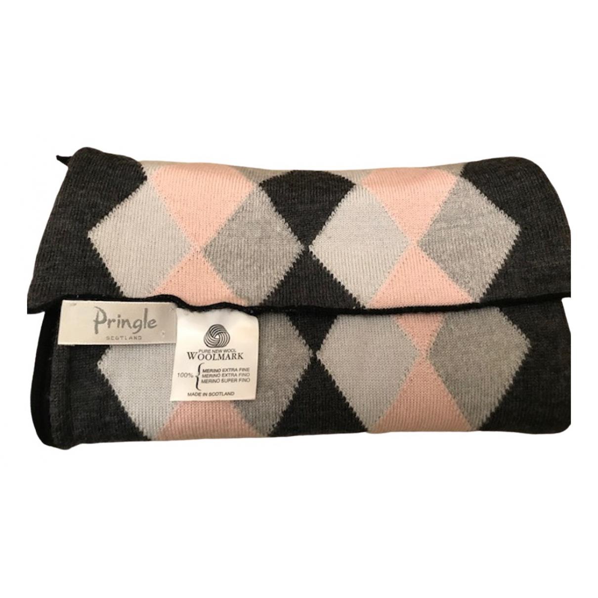 Pringle Of Scotland \N Grey Wool scarf for Women \N