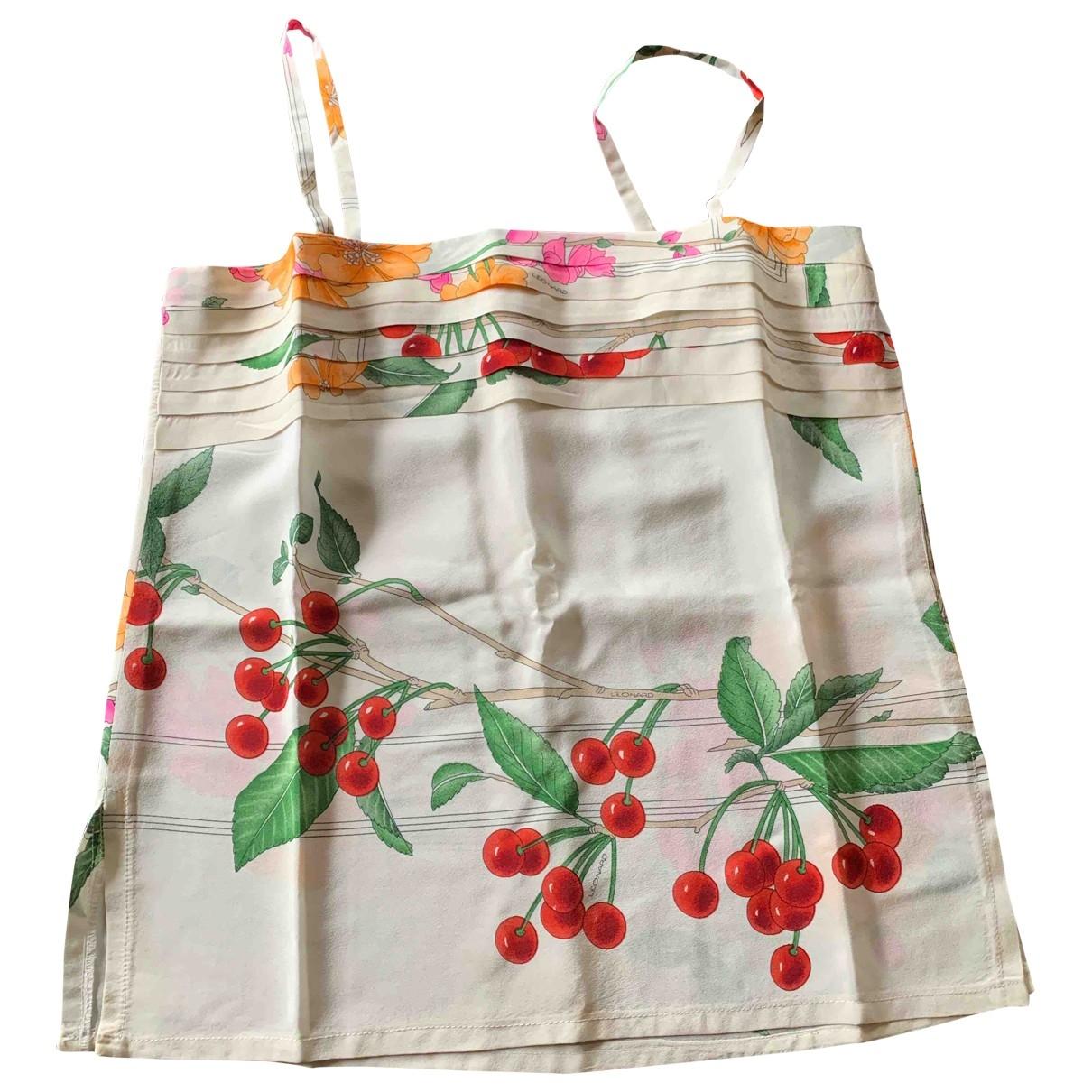 Leonard \N Multicolour Silk  top for Women 34 FR