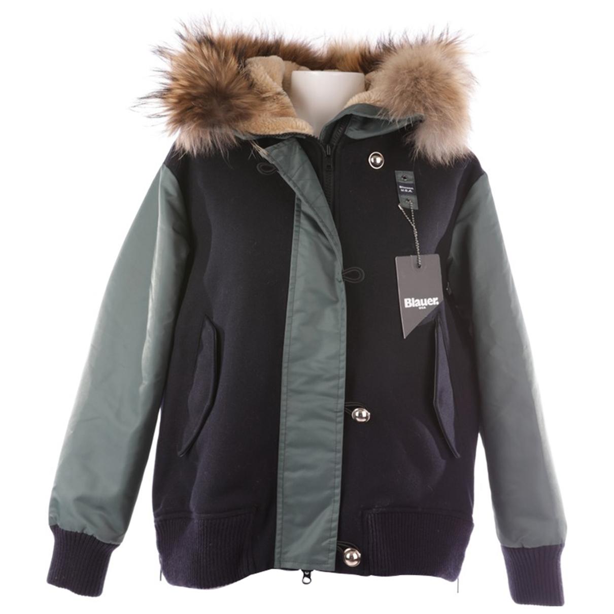 Blauer \N Grey Silk jacket for Women 36 FR
