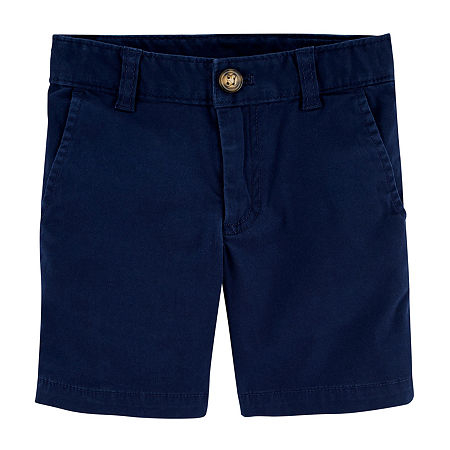 Carter's Baby Boys Mid Rise Pull-On Short, 3 Months , Blue