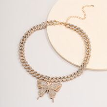 Butterfly Charm Chain Necklace