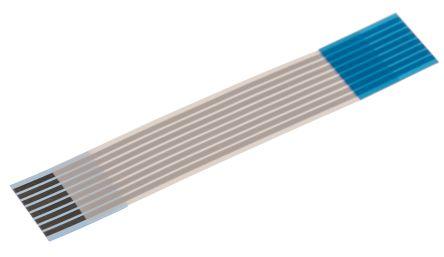 Wurth Elektronik WR-FFC FFC Jumper Cable, 1mm Pitch, 8 Way, 50mm Cable Length, 1 A, 60 V ac (5)