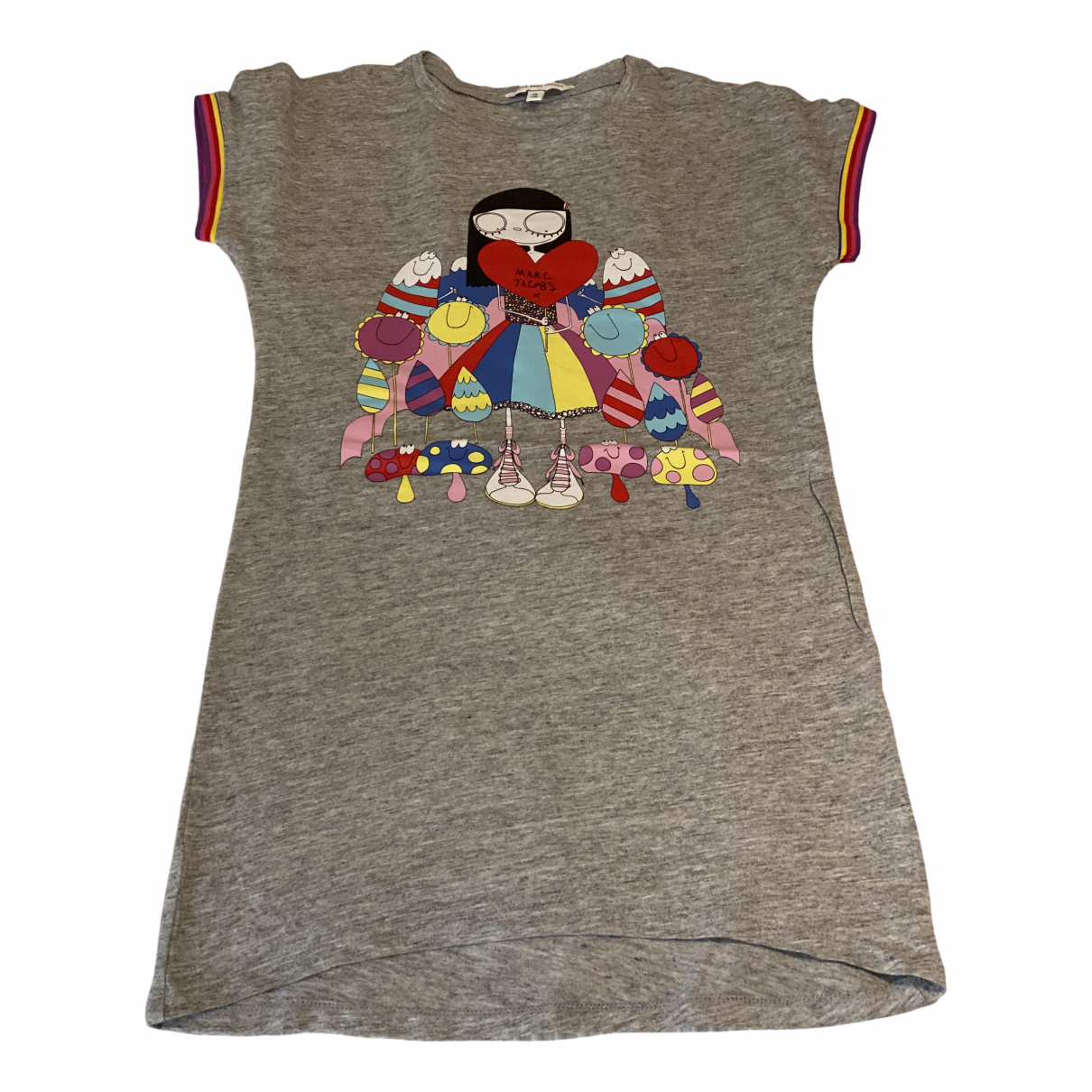 Little Marc Jacobs \N Grey Cotton dress for Kids 10 years - until 56 inches UK