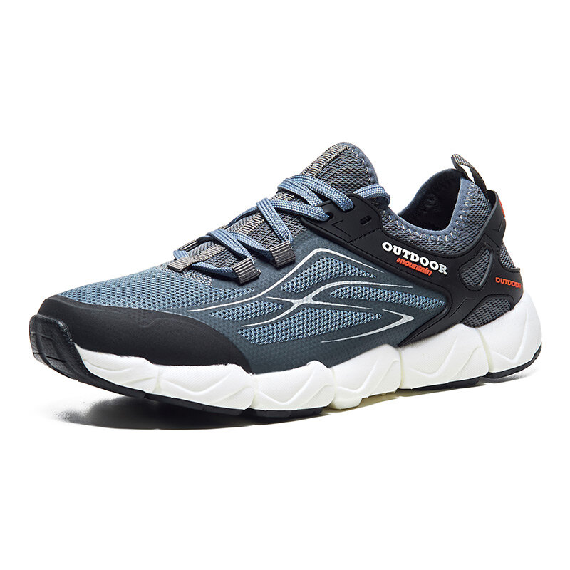 Men Mesh Breathable Outdoor Hiking Running Athletic Shoes