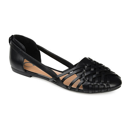 Journee Collection Womens Ekko Slip-On Shoe, 8 1/2 Medium, Black