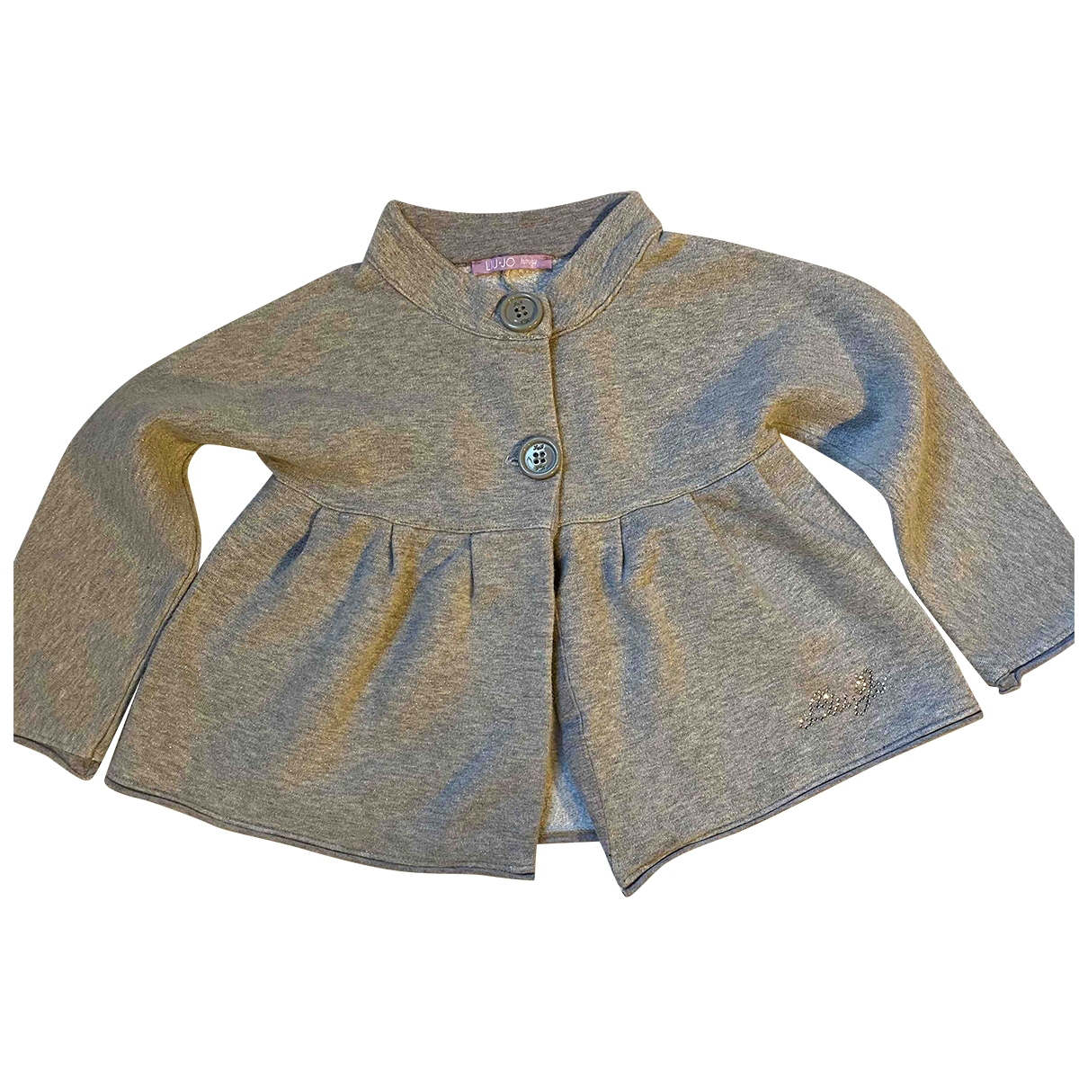 Liu.jo \N Grey Cotton Knitwear for Kids 18 months - up to 81cm FR
