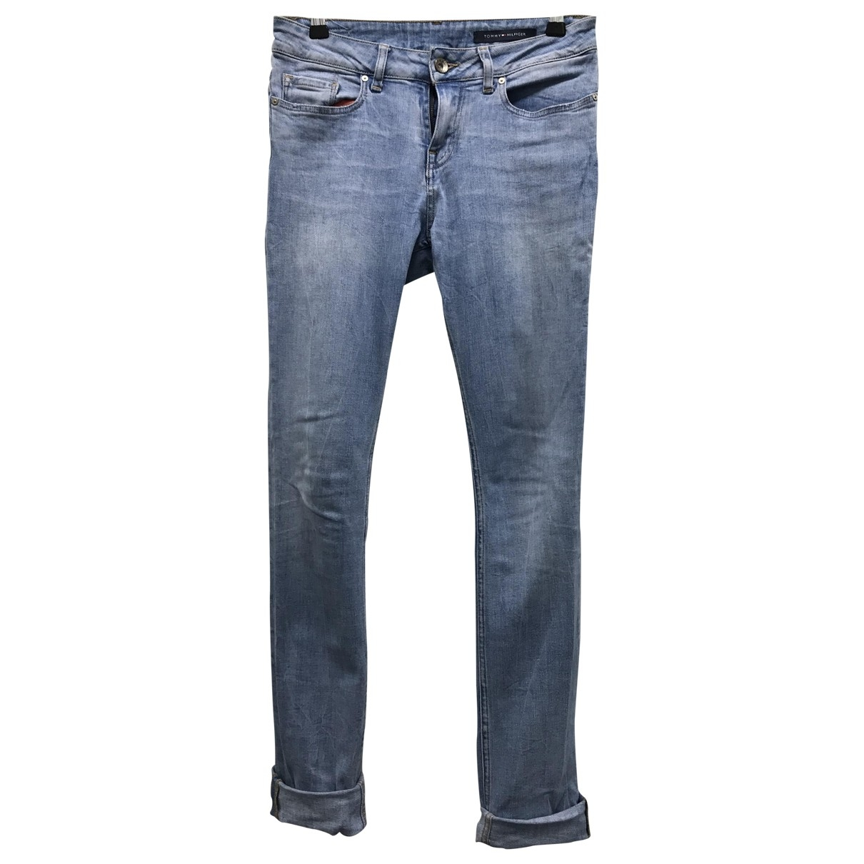 Tommy Hilfiger \N Blue Cotton - elasthane Jeans for Women 28 US