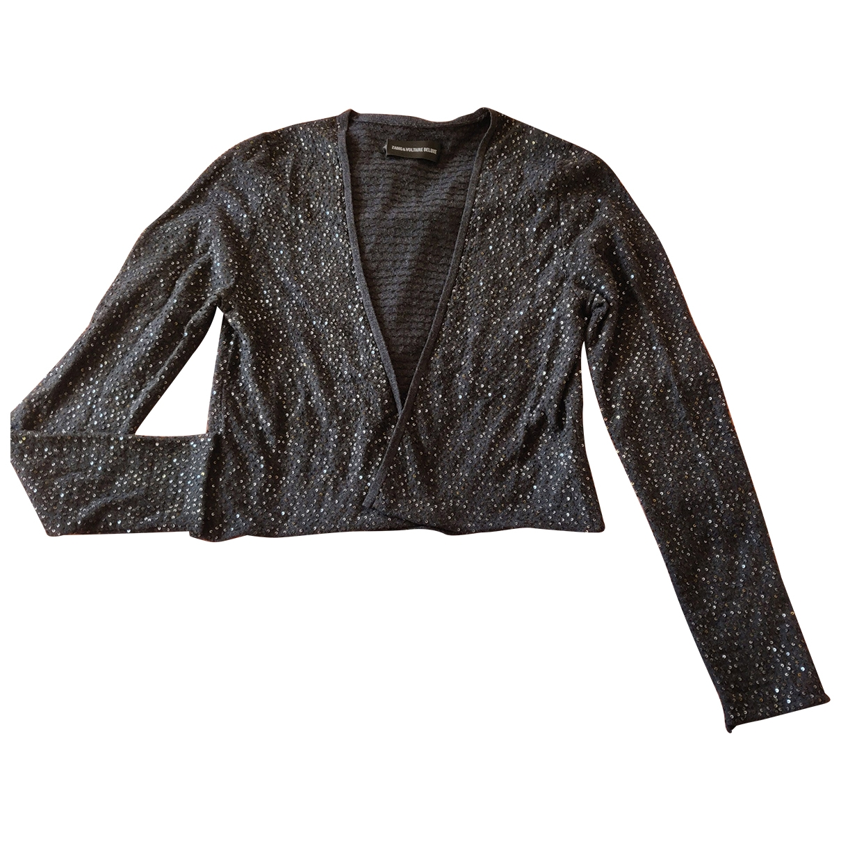 Zadig & Voltaire \N Anthracite Wool Knitwear for Women 38 FR