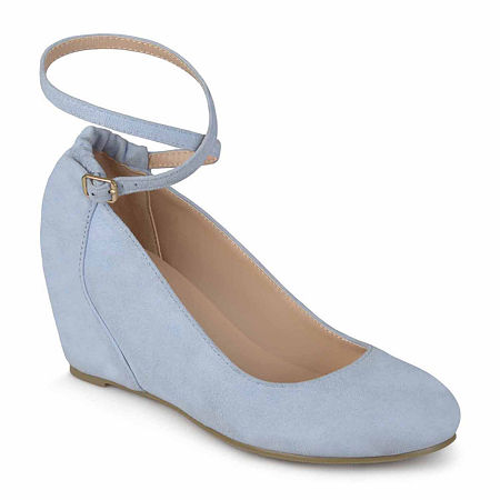 Journee Collection Womens Tibby Slip-On Shoes, 10 Medium, Blue