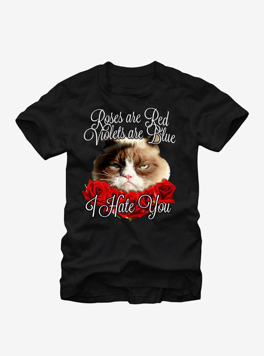 Grumpy Cat I Hate You T-Shirt