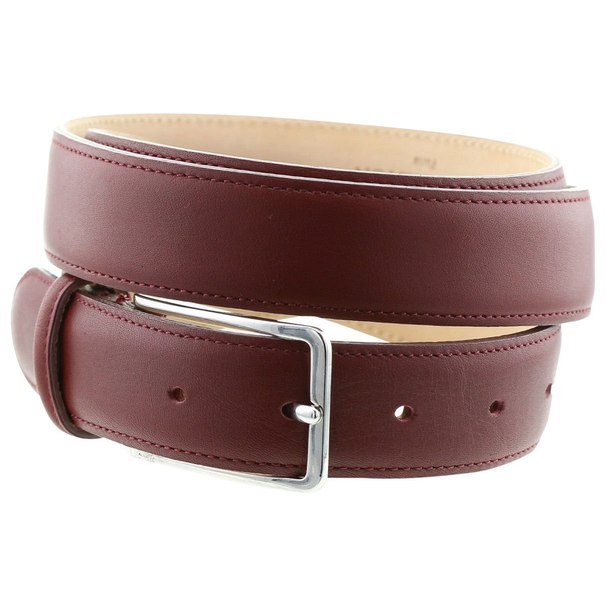Non Signé / Unsigned \N Blue Leather belt for Men 100 cm