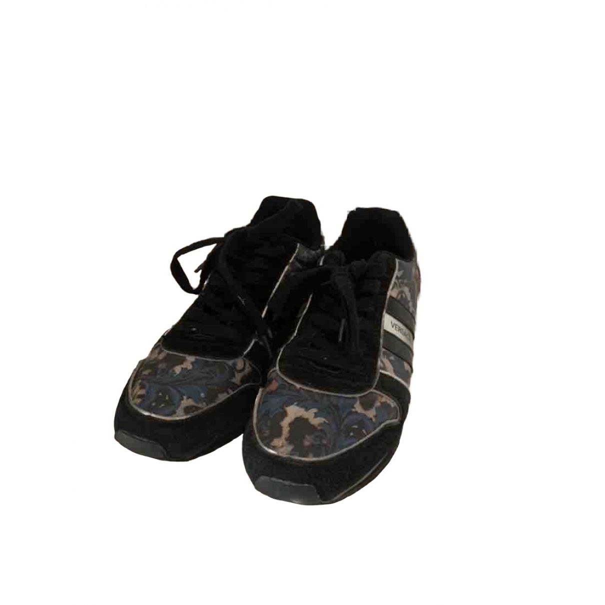 Versace Jeans \N Black Suede Trainers for Women 41 EU