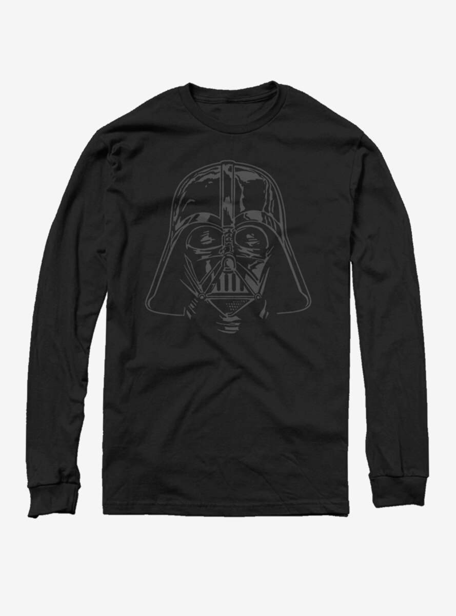 Star Wars Darth Vader Helmet Long Sleeve T-Shirt