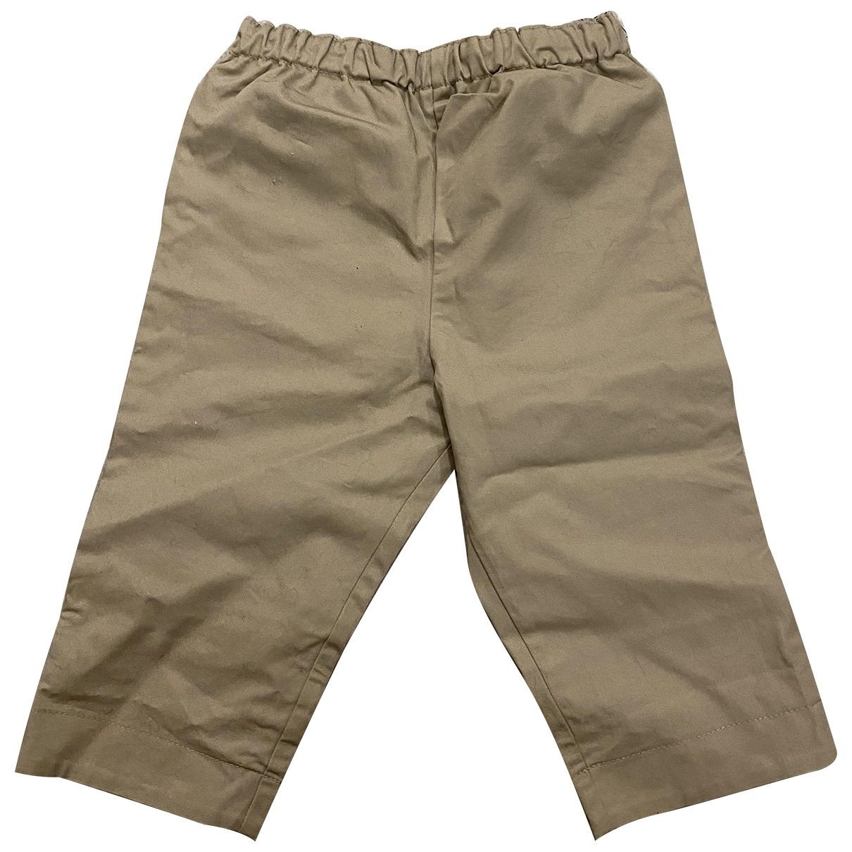 Burberry \N Beige Cotton Trousers for Kids 9 months - until 28 inches UK
