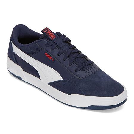 Puma C-Skate Mens Skate Shoes, 8 1/2 Medium, Blue