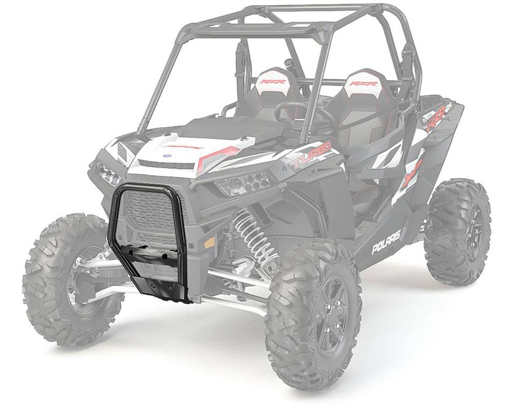 Polaris OEM 2881202-458 Front Bull Bumper- Black