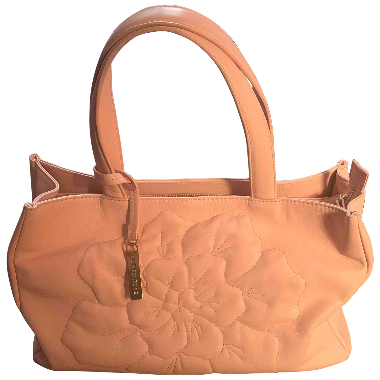 Anne Fontaine \N Pink Leather handbag for Women \N
