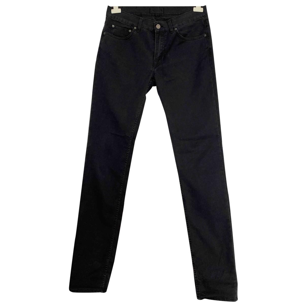 Acne Studios \N Grey Cotton - elasthane Jeans for Men 32 US