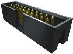 Samtec , TST, 10 Way, 2 Row, Right Angle PCB Header (26)