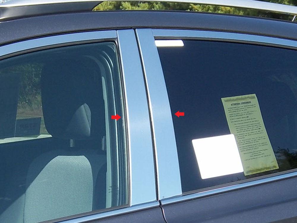 Quality Automotive Accessories 4-Piece Pillar Post Trim Kit Toyota Rav4 2014