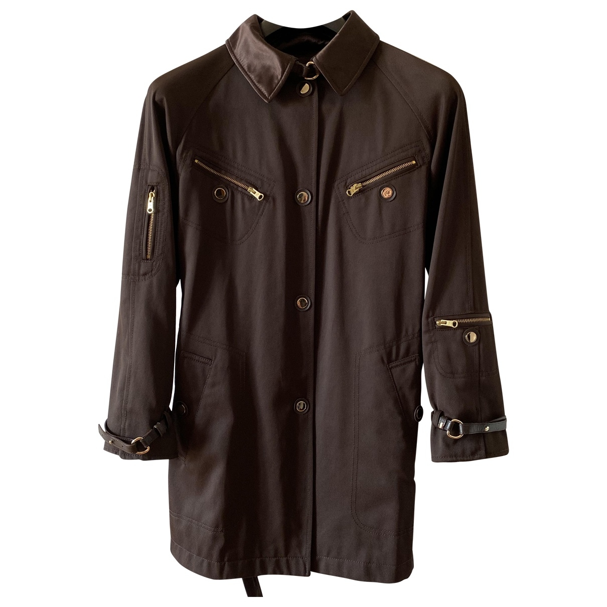 Fay \N Brown Trench coat for Women M International