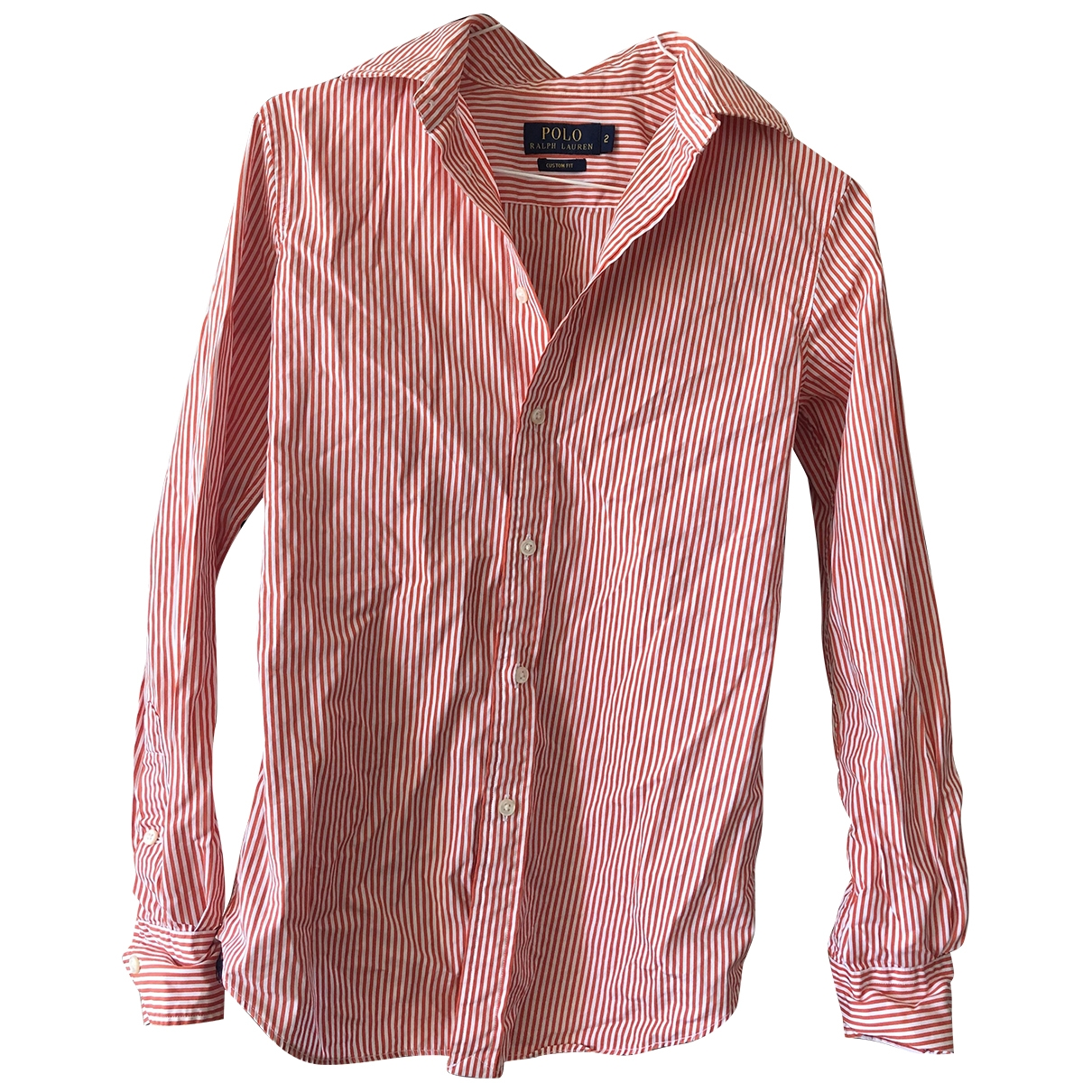 Polo Ralph Lauren \N Orange Cotton  top for Women 2 US