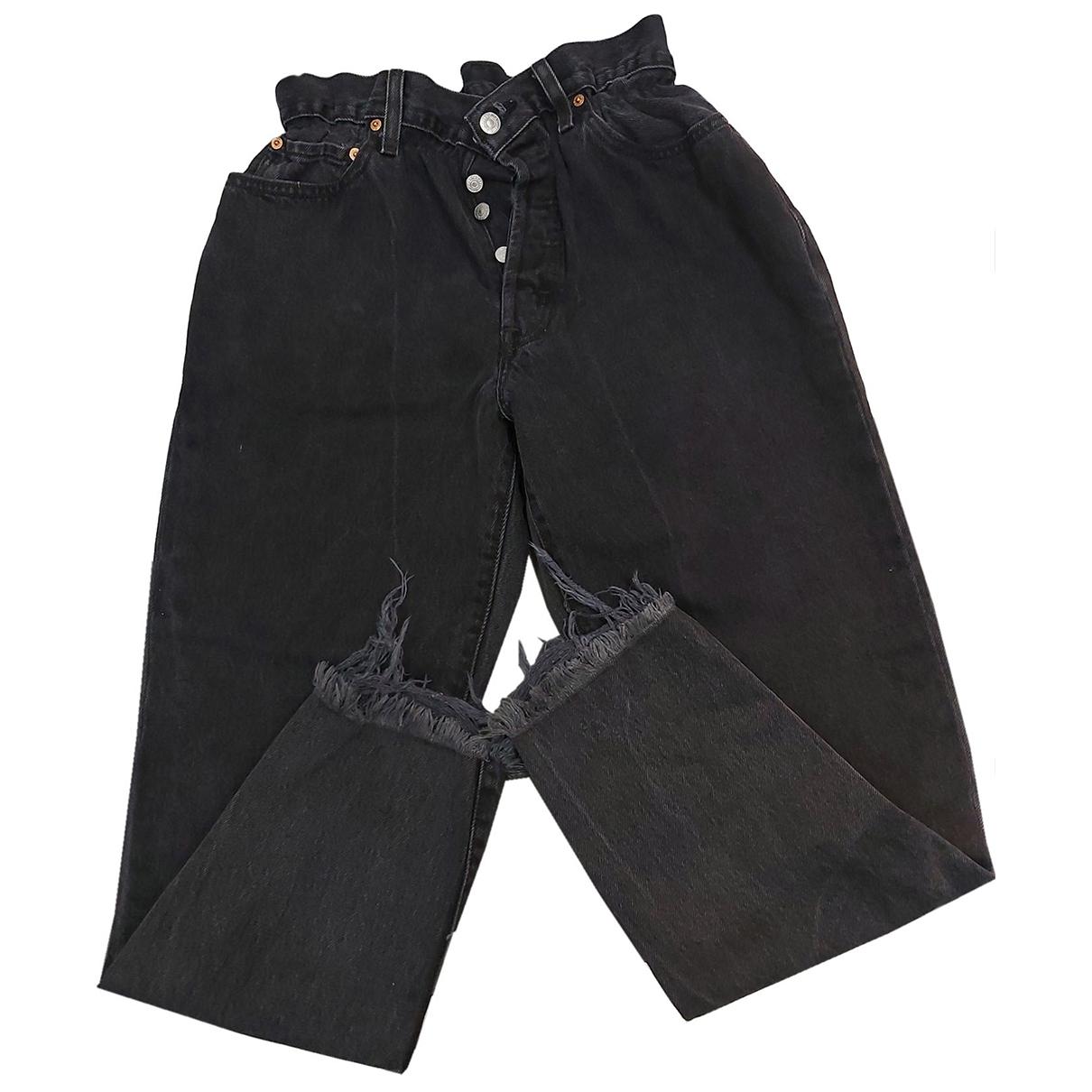 Levi's \N Black Denim - Jeans Jeans for Women 34 US