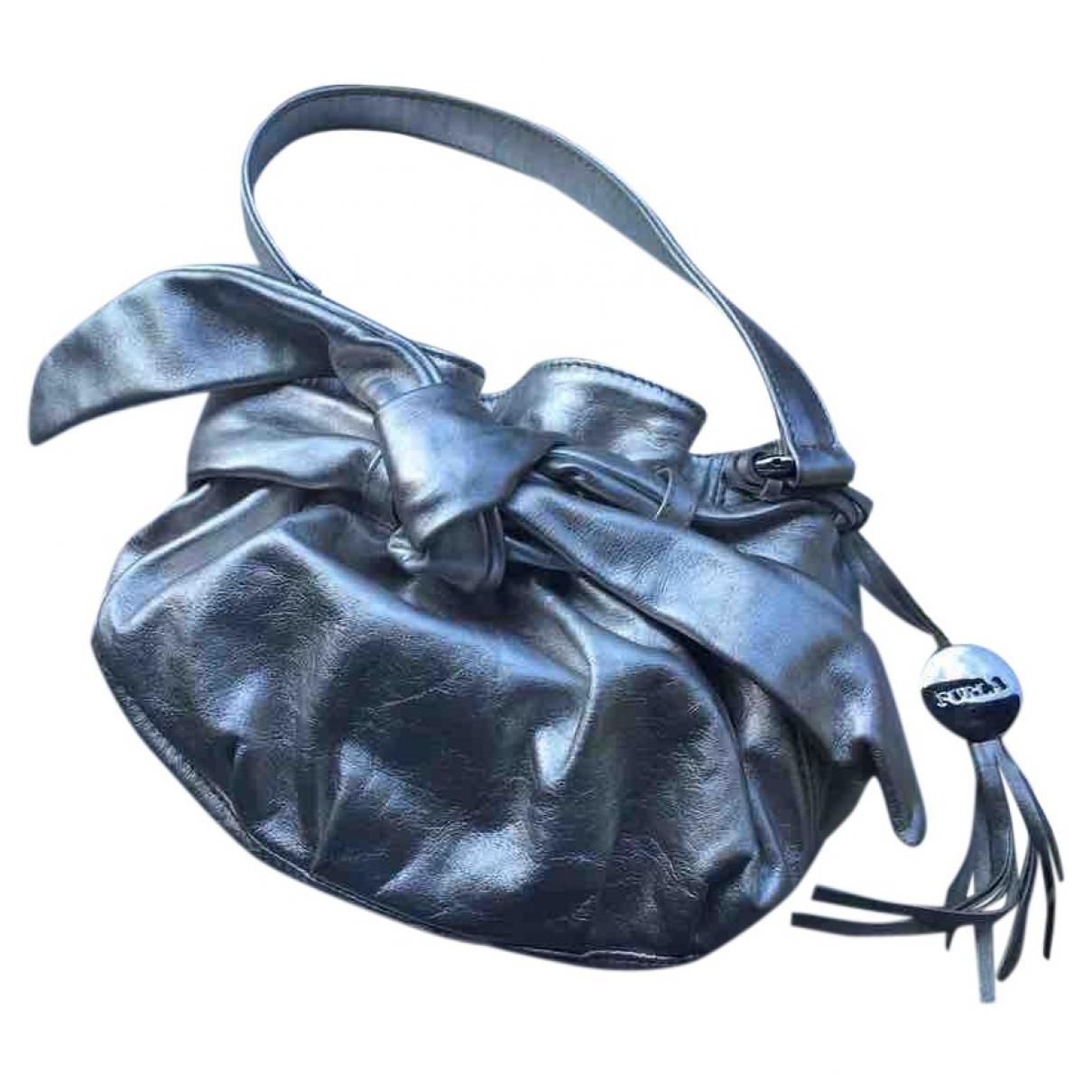 Furla \N Silver Leather handbag for Women \N
