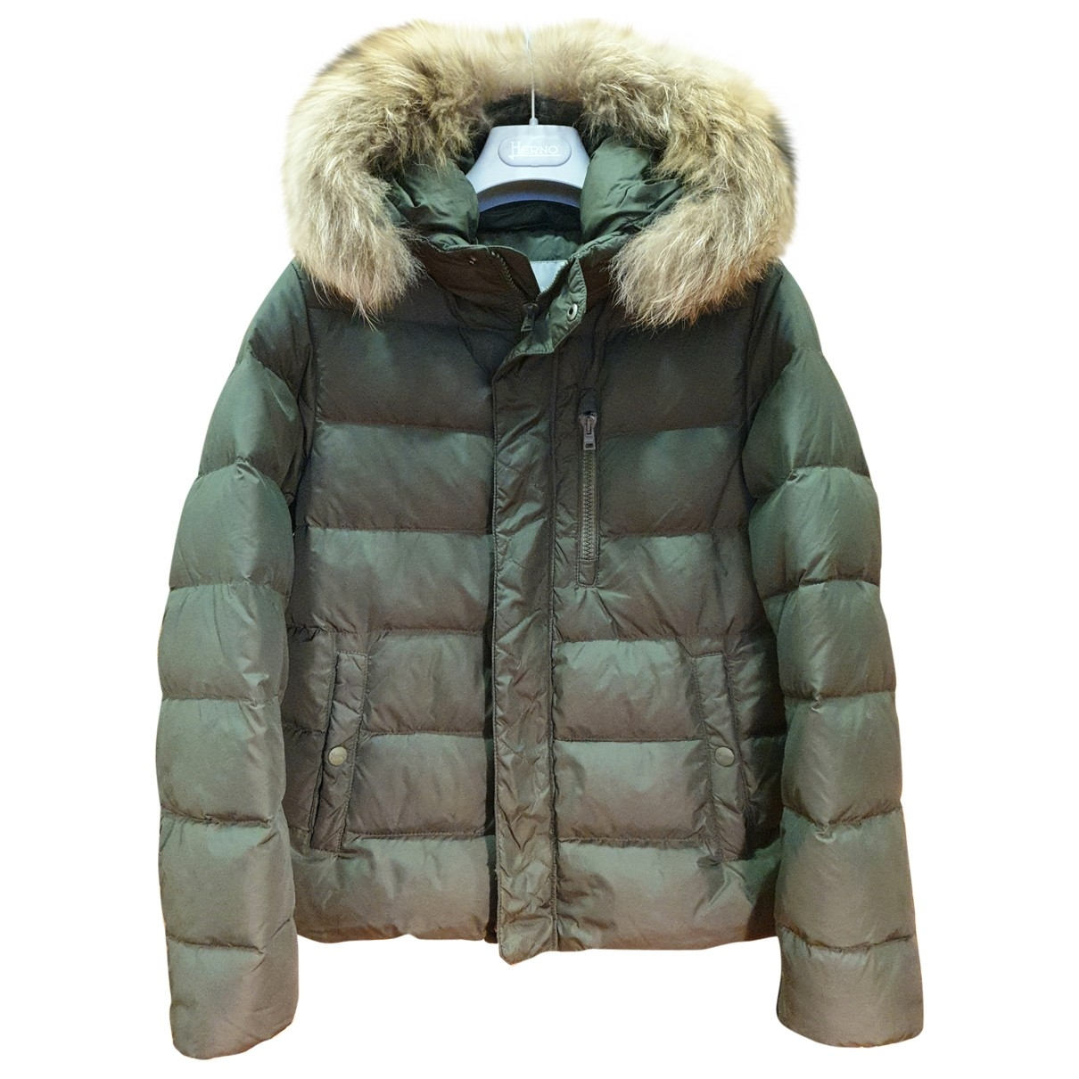 Herno \N Green jacket & coat for Kids 12 years - XS FR