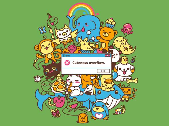 Error – Cuteness Overflow T Shirt