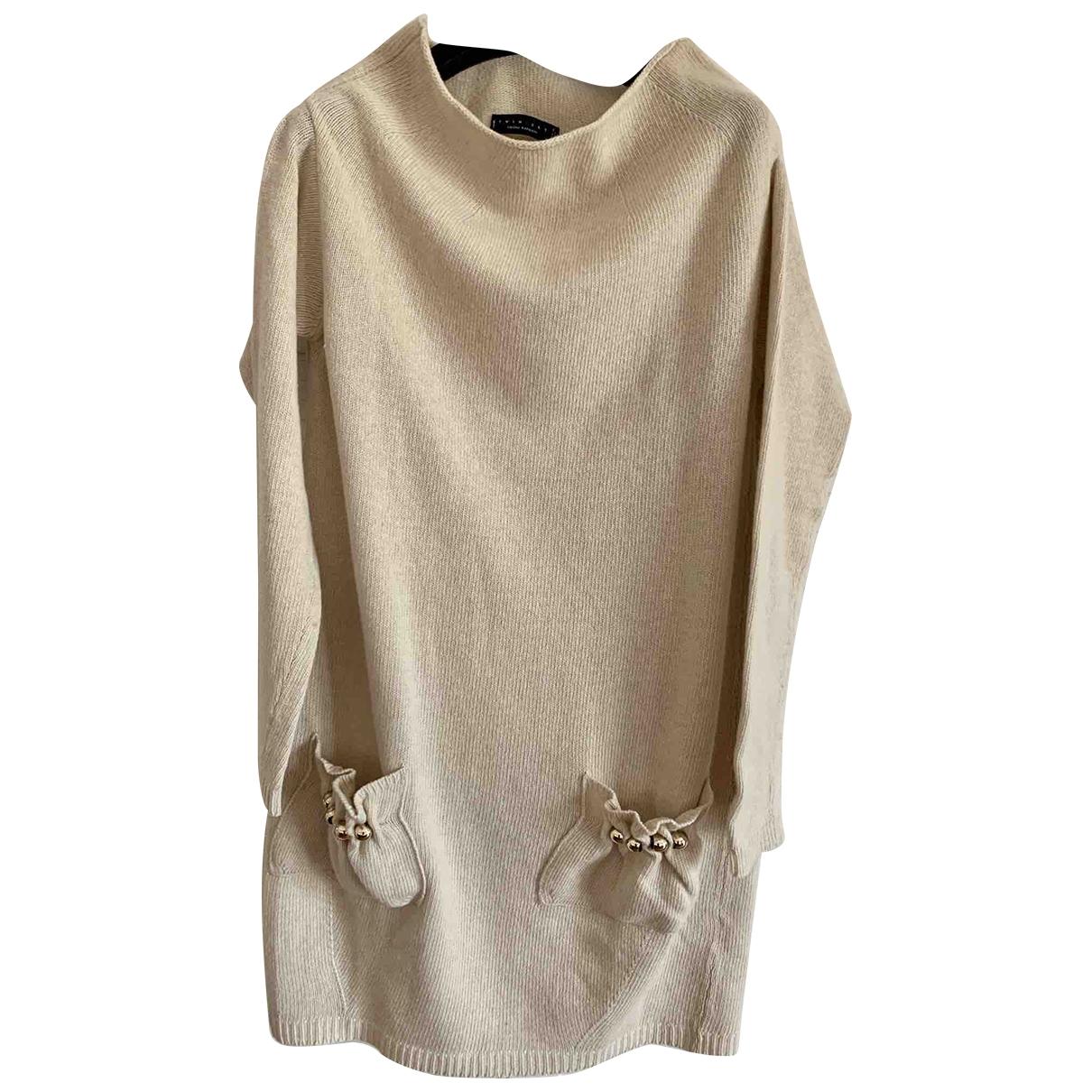 Twin Set \N Beige Wool dress for Women S International