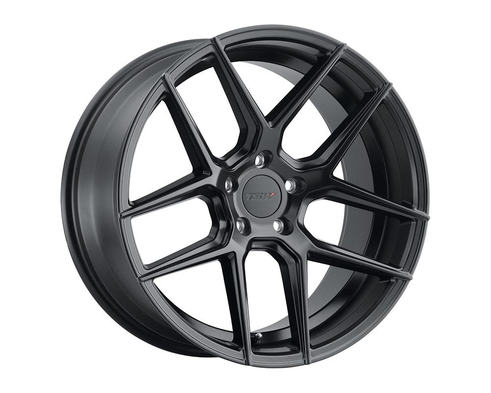 TSW Tabac Wheel 19x8.5  5x114.3 20mm Semi Gloss Black