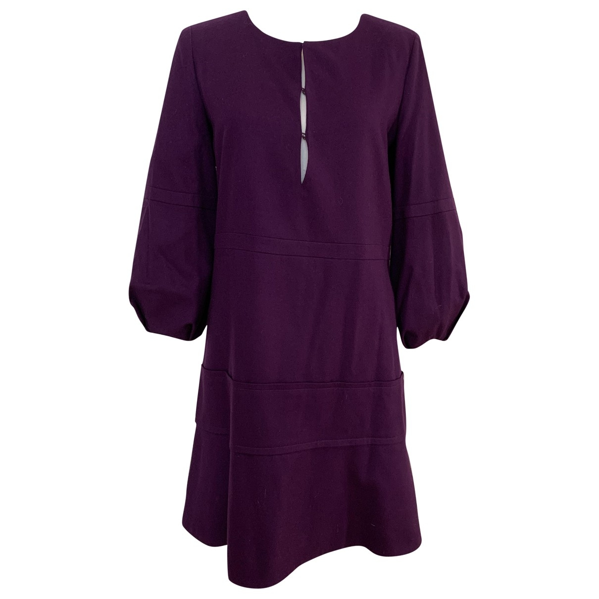 Chloé \N Purple Wool dress for Women 38 FR