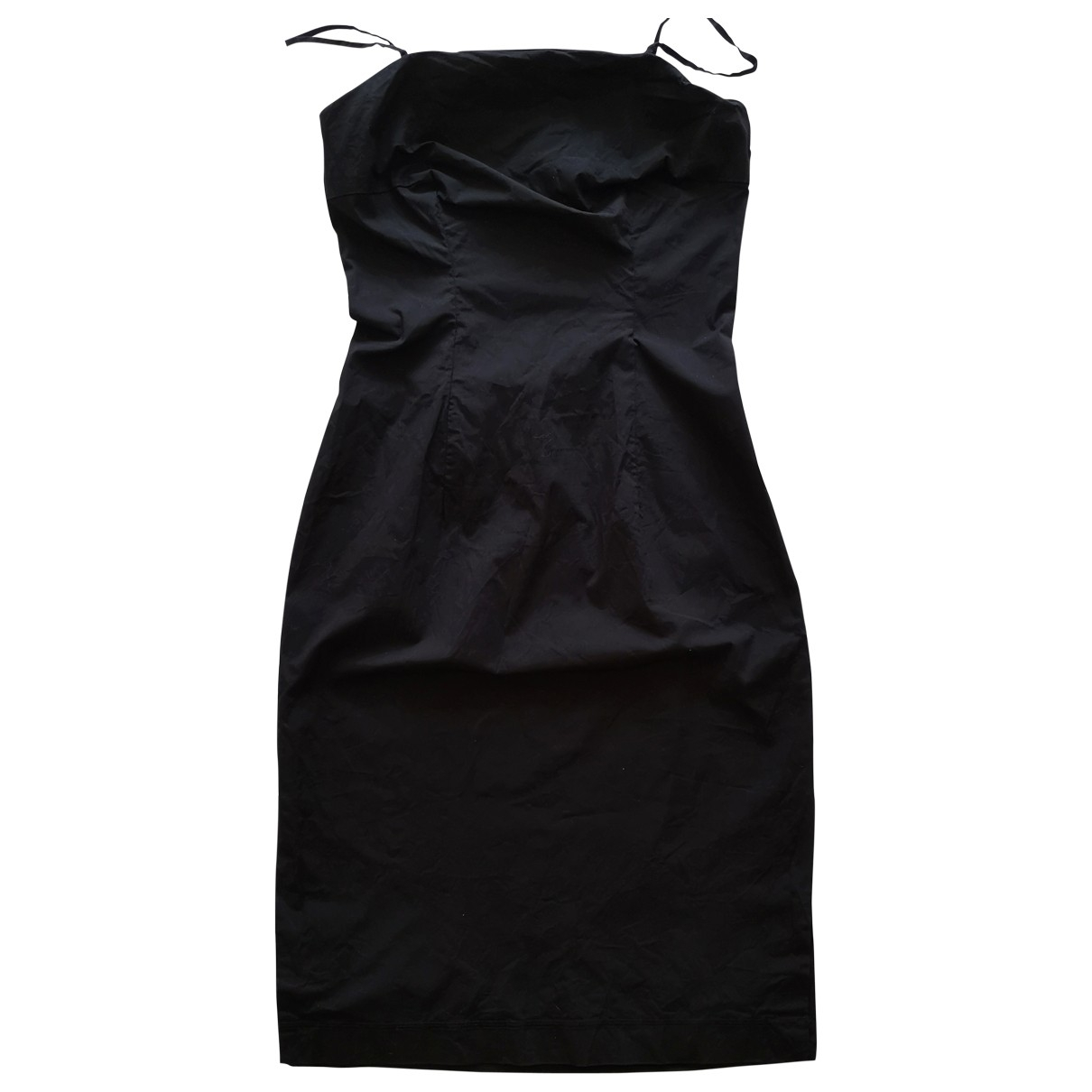 Tommy Hilfiger \N Black Cotton dress for Women 10 US