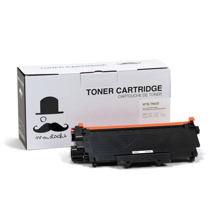 Brother TN-630 cartouche de toner compatible noire - Moustache®