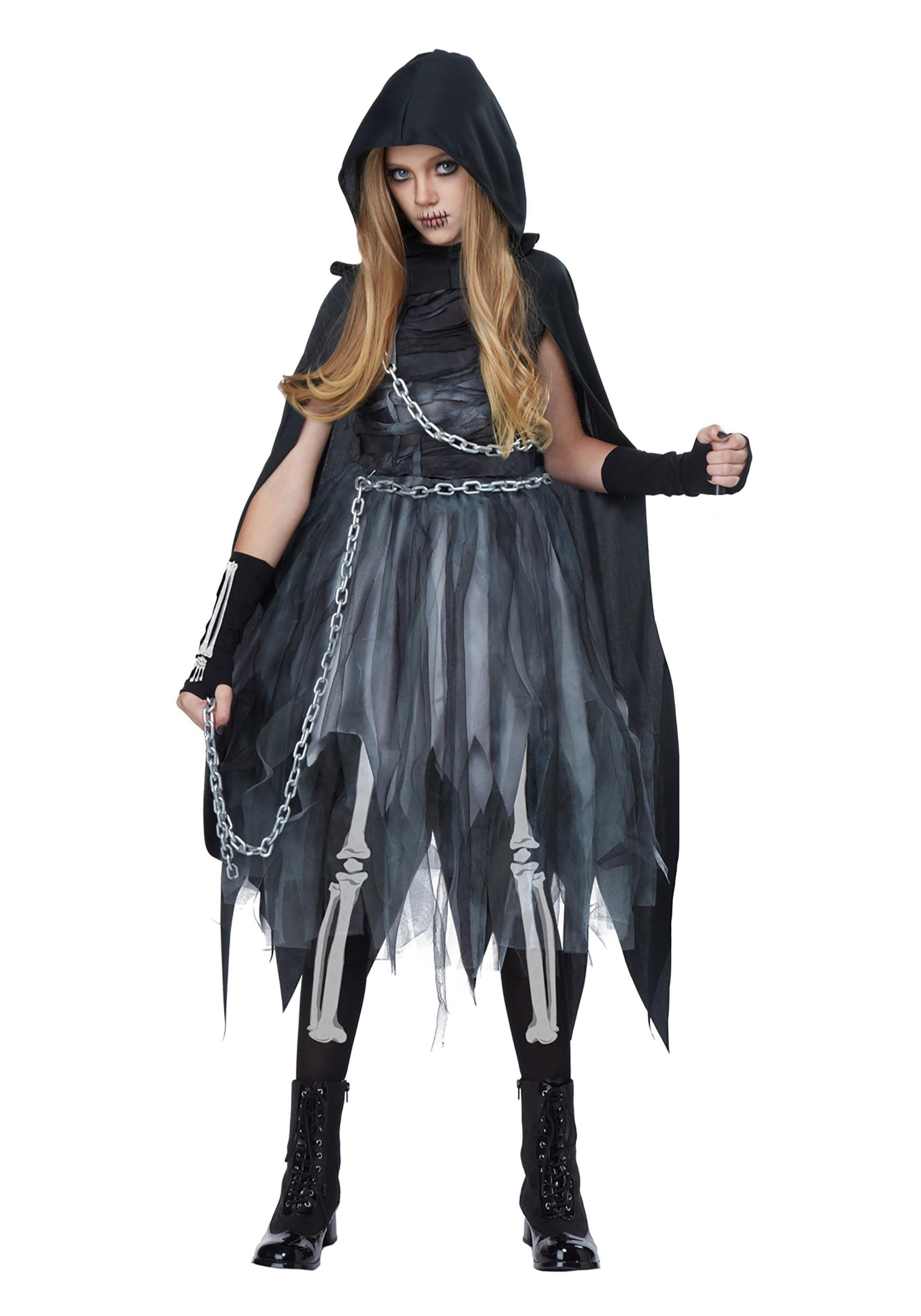Reaper Girl Costume for Girls