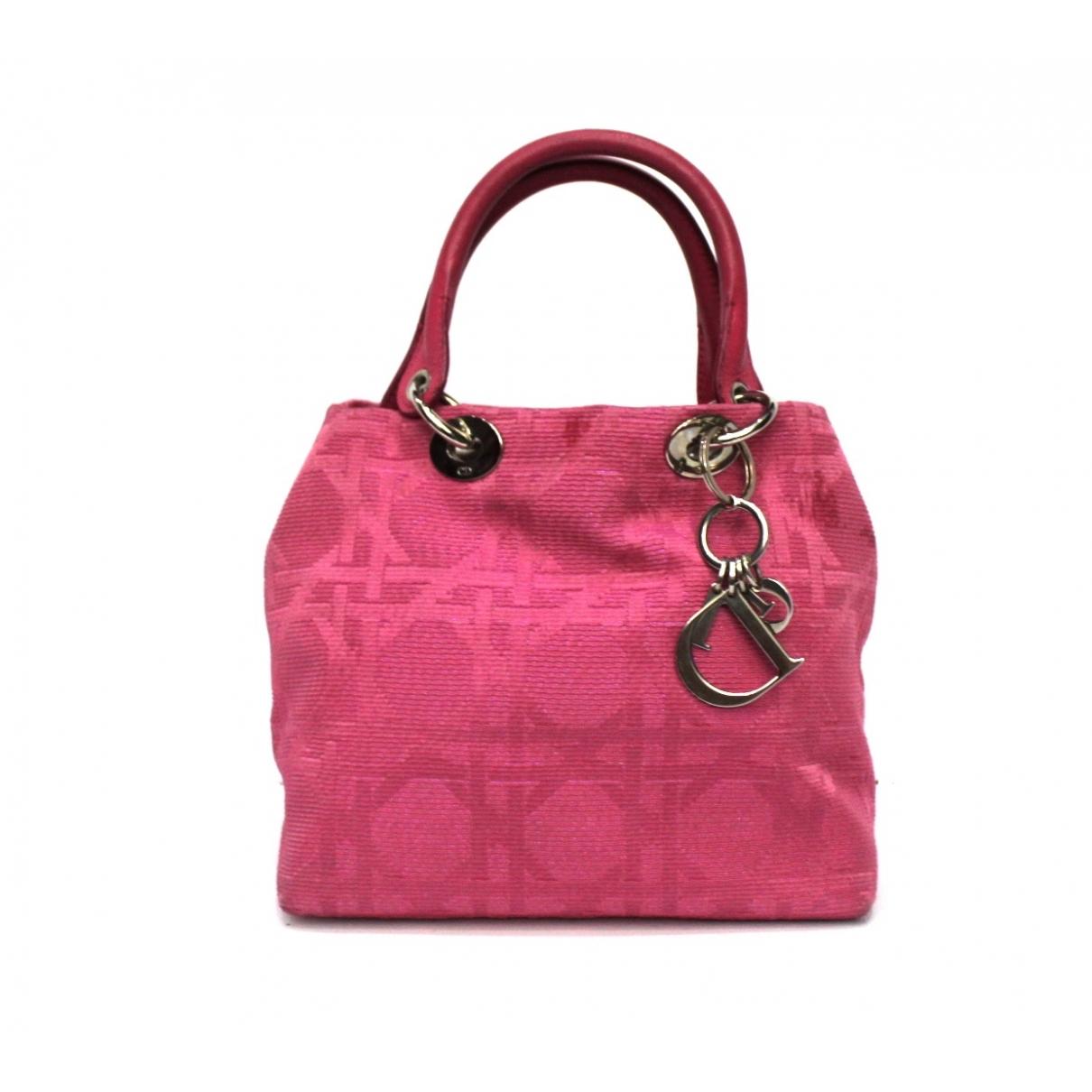 Dior \N Pink Cloth handbag for Women \N