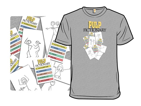 Pulp Fictionary T Shirt