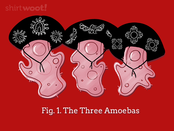The Three Amoebas T Shirt