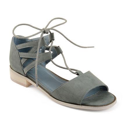 Journee Collection Womens Ingrid Slip-On Shoe, 7 Medium, Blue