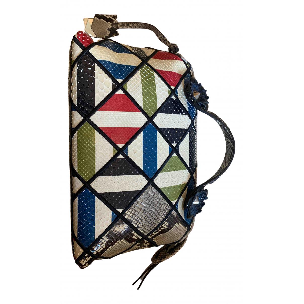 Fendi By The Way  Multicolour Python handbag for Women \N