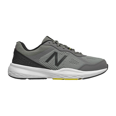 New Balance 517 Mens Training Shoes, 11 1/2 Extra Wide, Gray