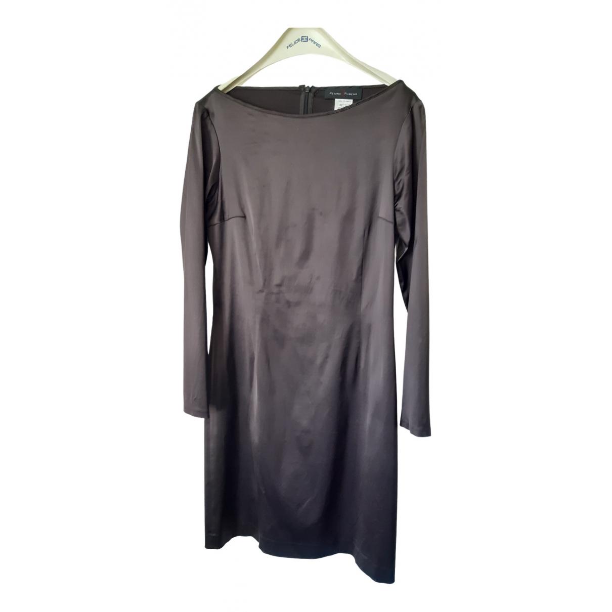 Regina Rubens \N Brown Silk dress for Women 40 FR