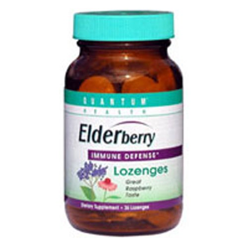 Elderberry+ Lozenges 36 Lozenges by Quantum Health