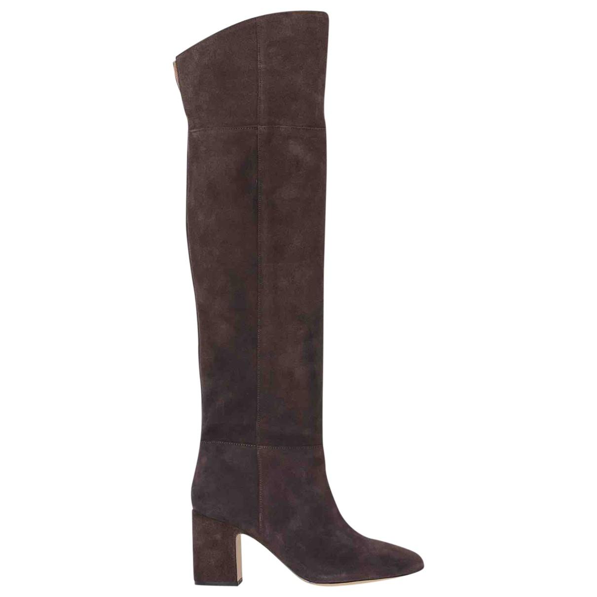 H&m Studio \N Brown Suede Boots for Women 40 EU
