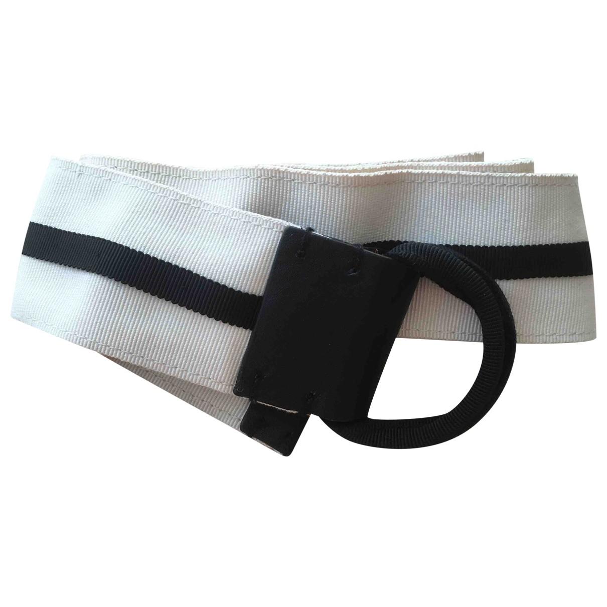By Malene Birger \N White Cotton belt for Women S International