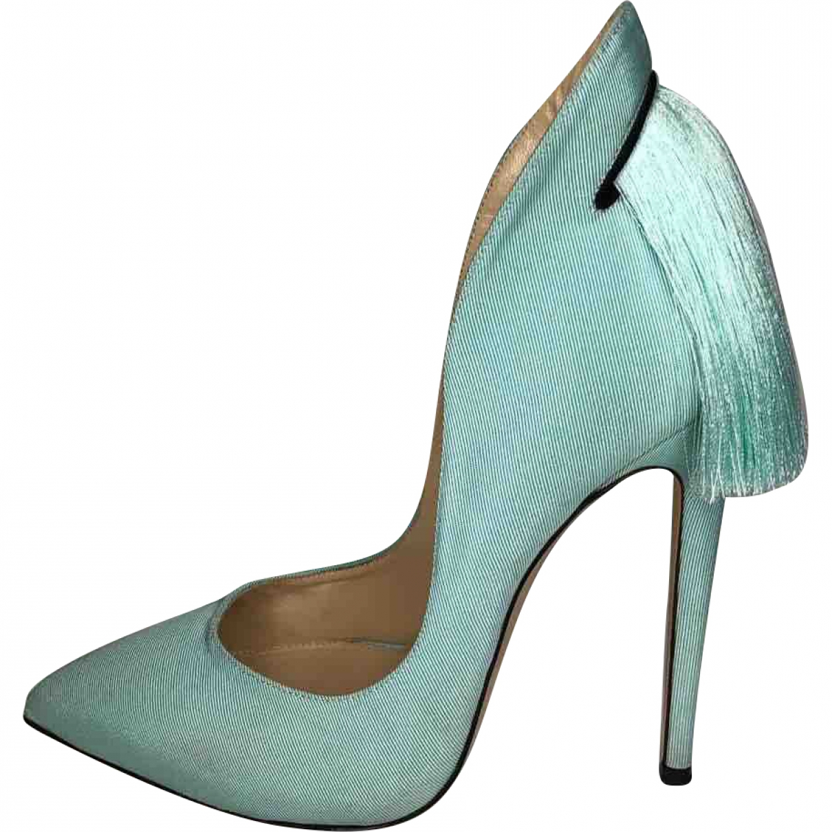 Aleksander Siradekian \N \N Cloth Heels for Women 38 EU