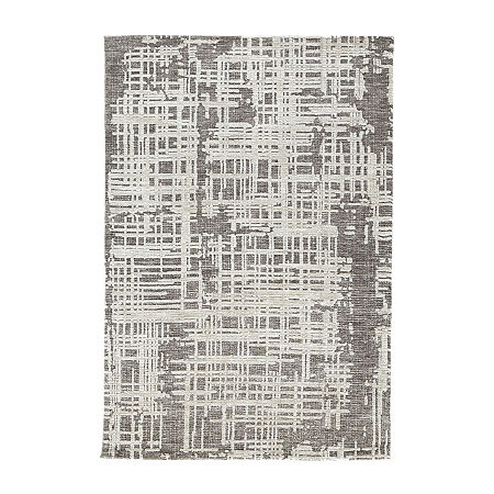 Signature Design by Ashley Makalo Rug, One Size , Gray